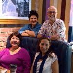 Pam Corrigan, Salley Al Shafey, David Rigby and Miral Al Ramlawy